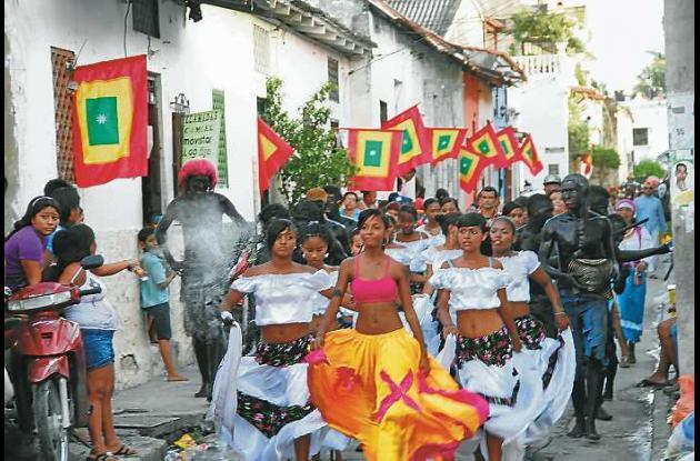 Homenaje Estudiantil a Héroes de la Independencia de Cartagena, 2011.