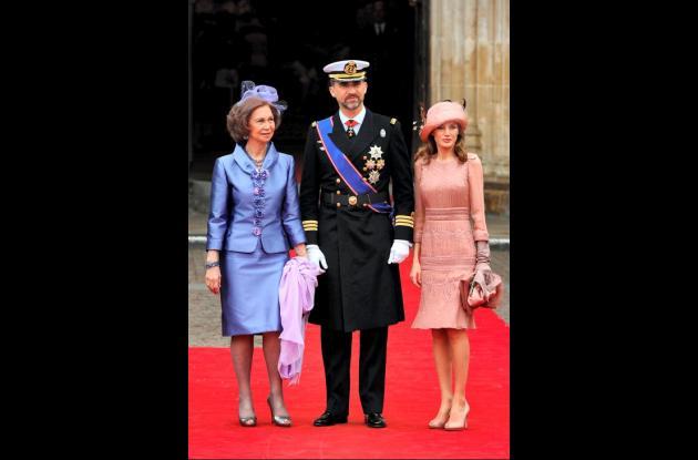 Celebridades, deportistas y realeza  en la boda