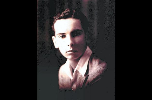 Enrique Grau en su  juventud.