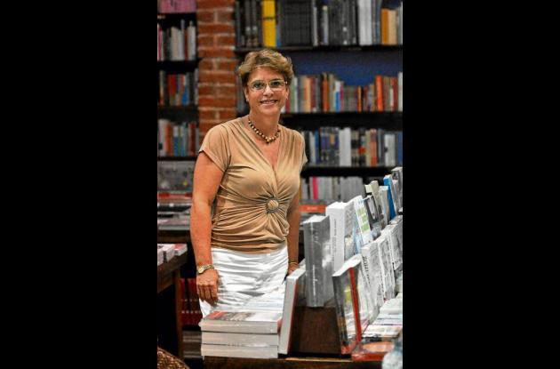María Elsa Gutiérrez, librera cartagenera.