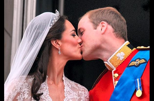 El príncipe Guillermo y su esposa Kate, duquesa de Cambridge.