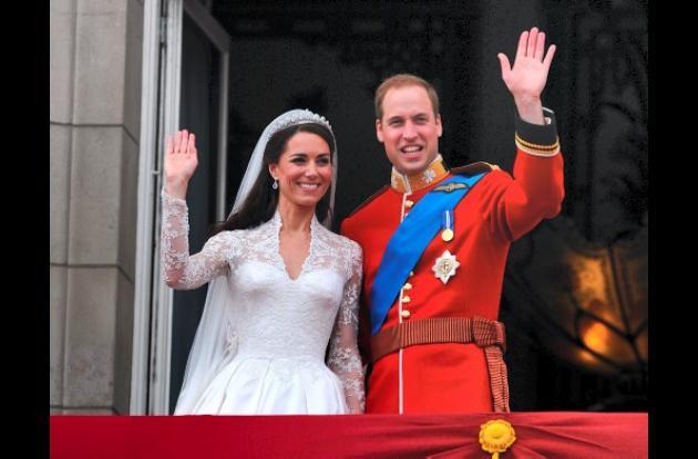 Kate y Guillermo hacen historia