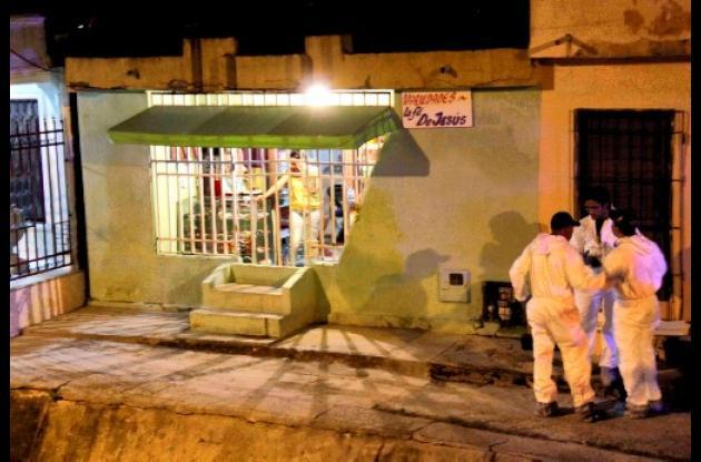 El crimen ocurrió en la calle Don Bosco, en Escallón Villa