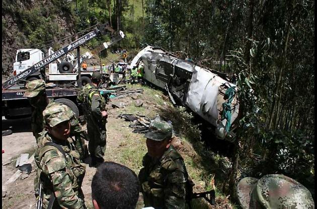 Accidente en Nariño dejó seis muertos
