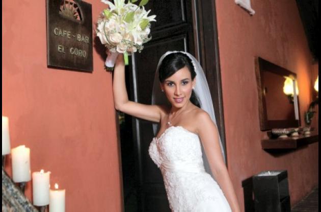 La novia, Diana Fontalvo.