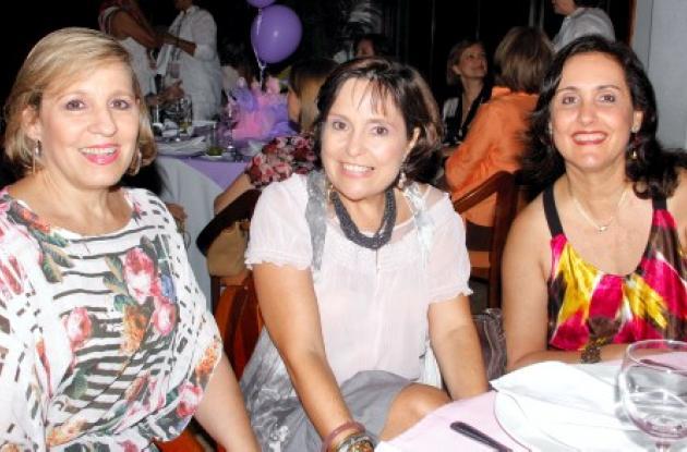 María Victoria De la  Espriella, Rosario Díazgranados y Margarita Danies.