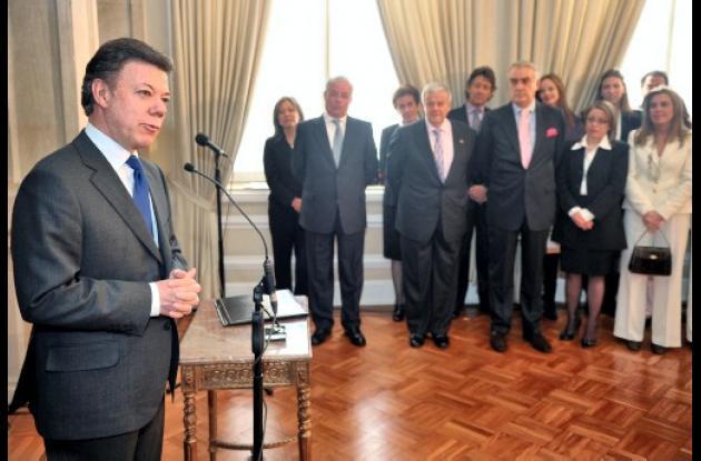 Presidente de Colombia, Juan Manuel Santos.
