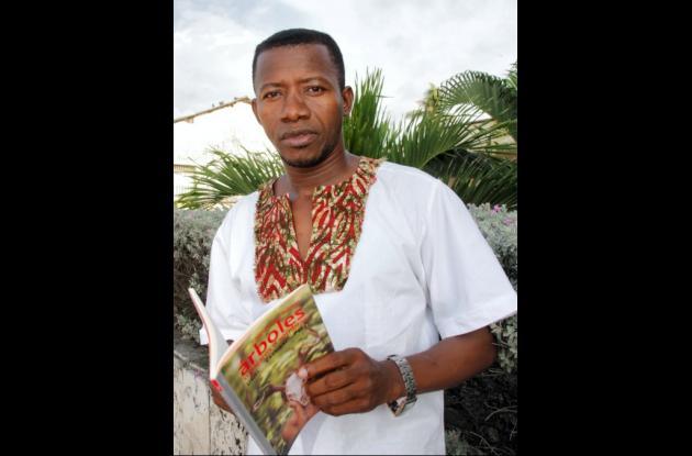 El poeta de Palenque, Uriel Cassiani Pérez.