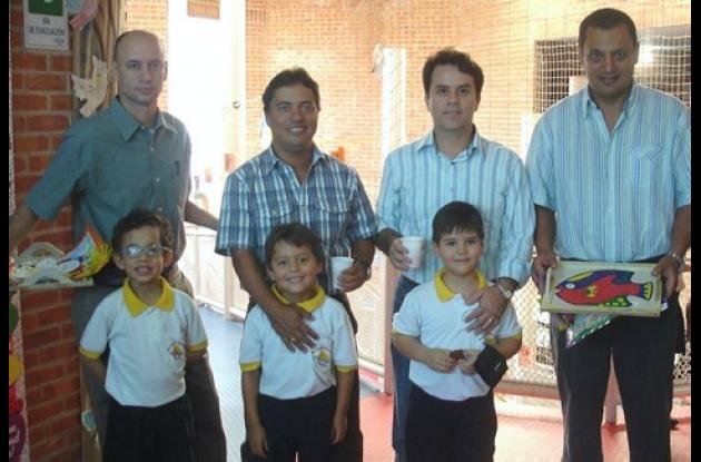 Jaime Correa, Mauricio Sánchez, Javier Acevedo, John Muriel, Juan Pablo Correa, Alejandro Sánchez y Juan Esteban Acevedo.