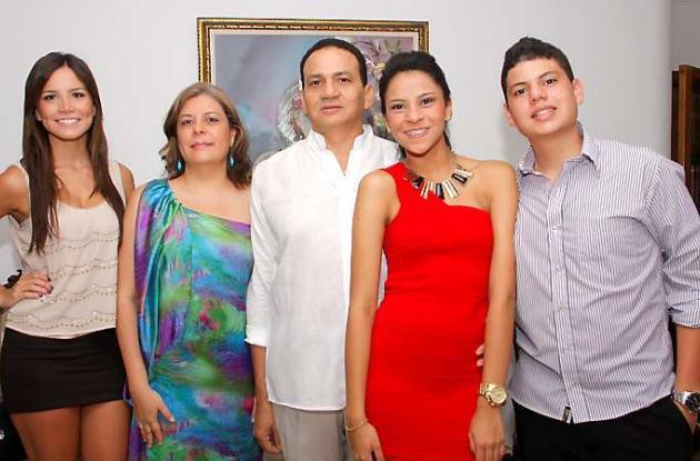 Quince años de María Claudia Hoyos