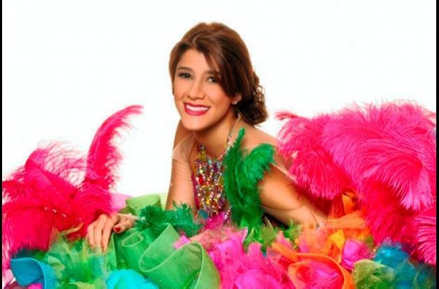 Andrea Jaramillo Char, Reina del Carnaval de Barranquilla 2012