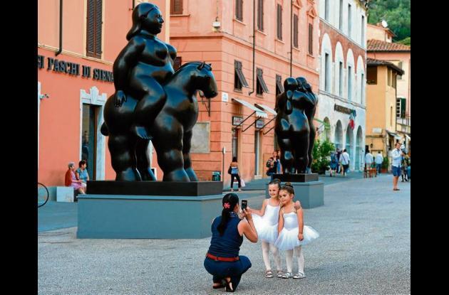 Pietrasanta celebra las esculturas de Fernando Botero