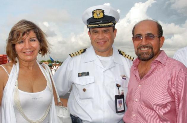 Soledad Trillos de Rojas, Juan Francisco Herrera Leal y Hernán Rojas.