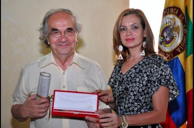 Hugo Zemelman y Alicia Sáenz.
