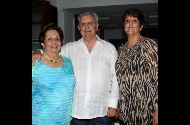 Bodas de oro de Eduardo Noguera y Aurita Amador