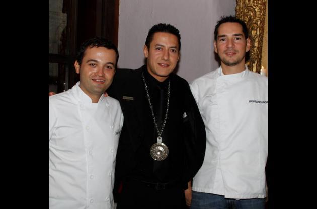 Reunión de chefs