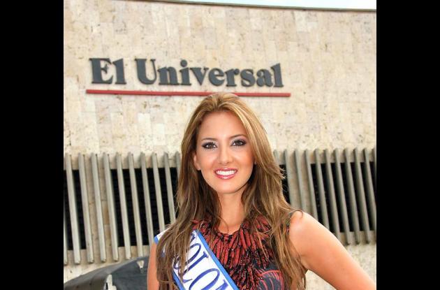 La visita de la Señorita Colombia 2011 a  El Universal