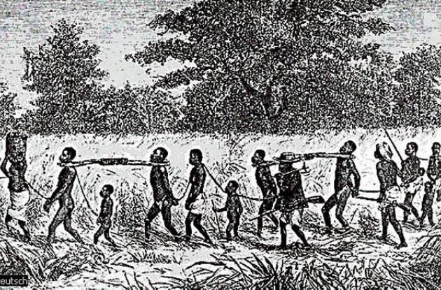Llegada de africanos esclavizados en Cartagena.