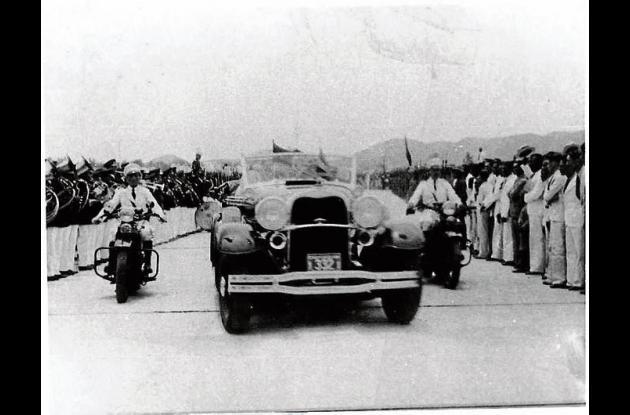 Visita del presidente Franklin Delano Roosevelt a Cartagena.