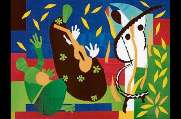 Una de las obras de Matisse.