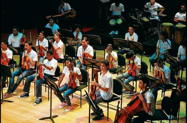 Cartagena, un ejército musical