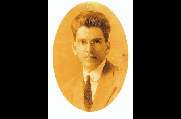 Domingo López Escauriaza en su juventud.