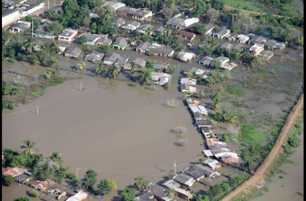 Cinco departamentos son los más afectados por las lluvias