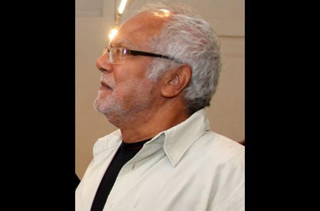 El crítico de arte y catedrático Willy Caballero Salguedo