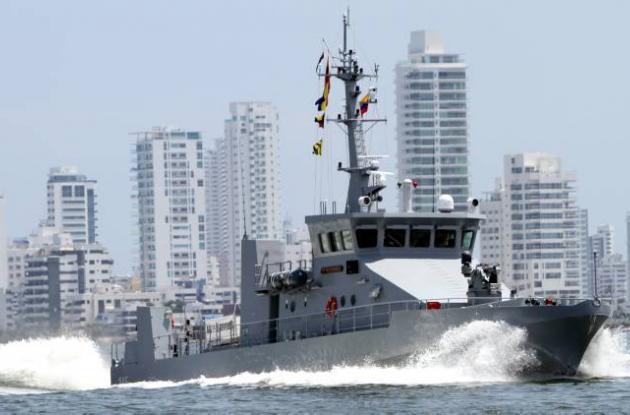 Barco de la Armada Nacional
