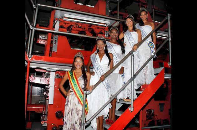 Las reinas de la Independencia en El Universal