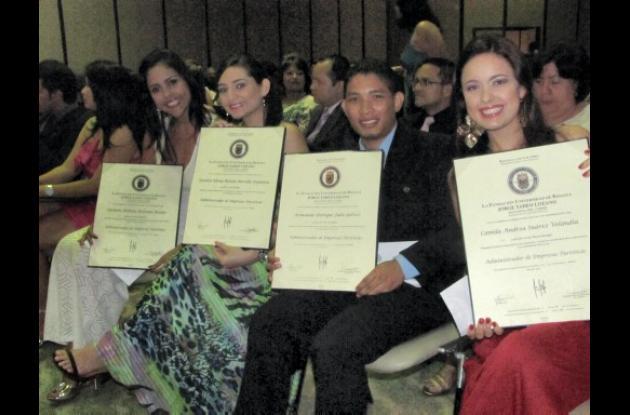 Grados de la Universidad Jorge Tadeo Lozano