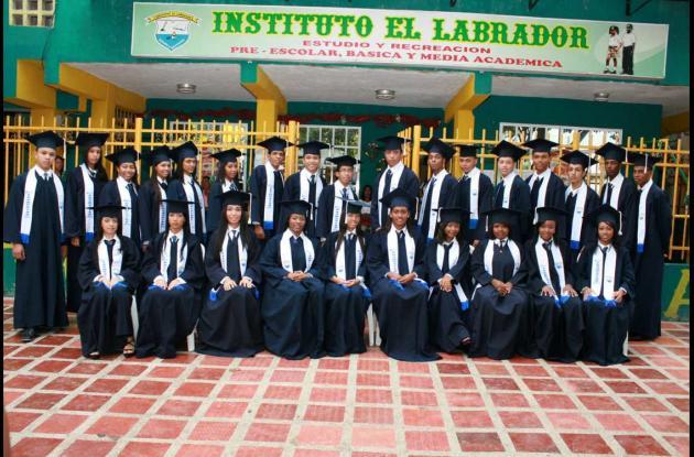 Grados del Instituto El Labrador