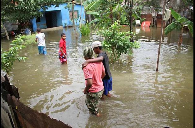 Lluvias generan emergencias en Cartagena