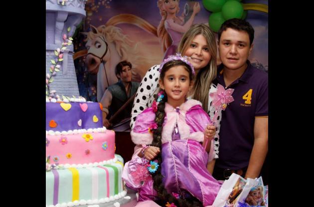 Cumpleaños de María Camila Decaro