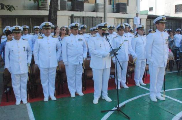 Ceremonia en la Armada Nacional
