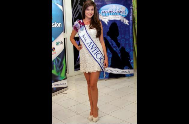 Olivia Aristizábal Echeverri, Señorita Antioquia