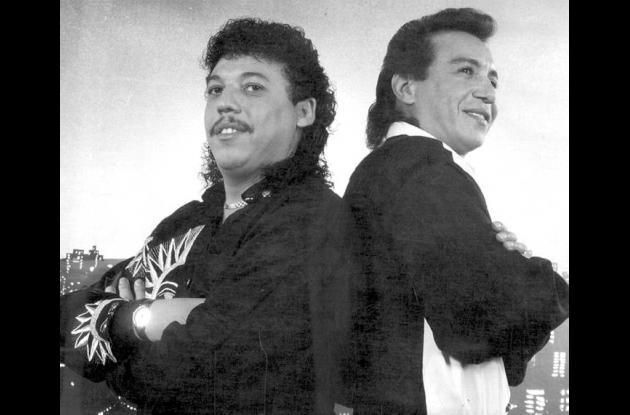 Diomedes Díaz y Juancho Rois.
