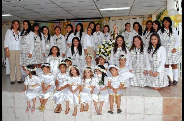 Homenaje a la Virgen del Carmen en El Carmelo