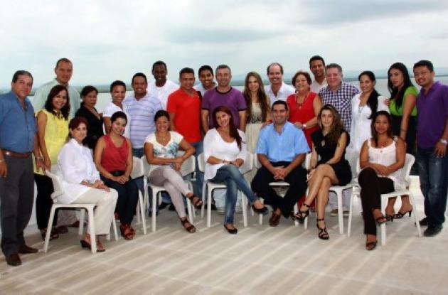 Almuerzo a periodistas en Hotel Las Américas
