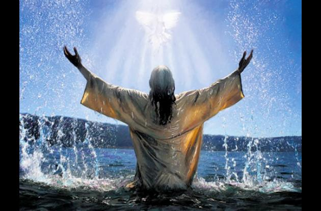 Una de las imágenes de Cristo.