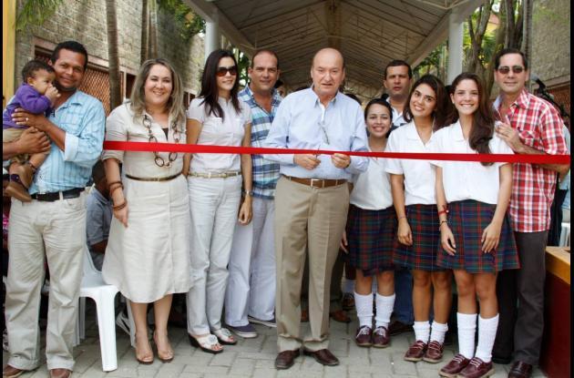 Inauguración en el Gimnasio Cartagena de Indias