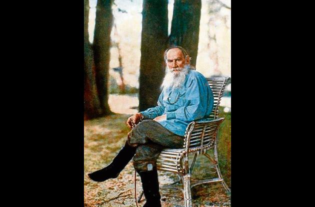 """León Tolstoi, autor de """"Guerra y Paz"""""""