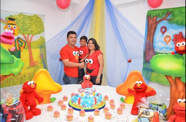 Cumpleaños de Mathías Torres