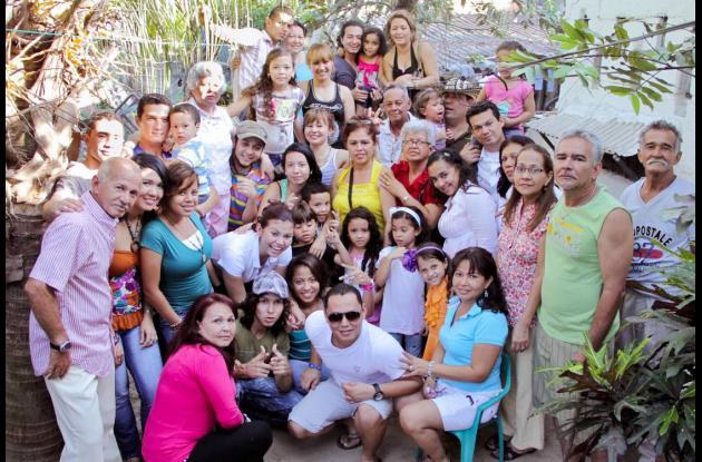 Reunión de la familia Castillo