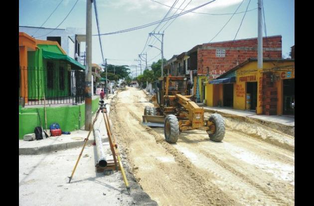 Calle 5 del barrio La Consolata