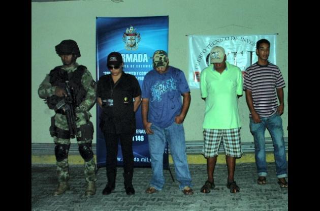 Capturados por narcotráfico