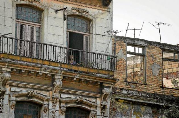 Casas en La Habana.