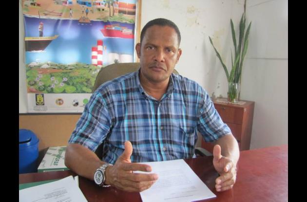 Iván Medrano, jefe de la Oficina de Gestión del Riesgo.