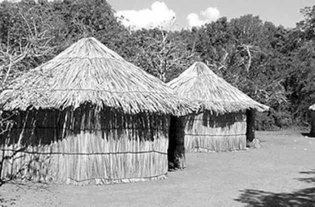 Casa original de los primeros habitantes de Cartagena.