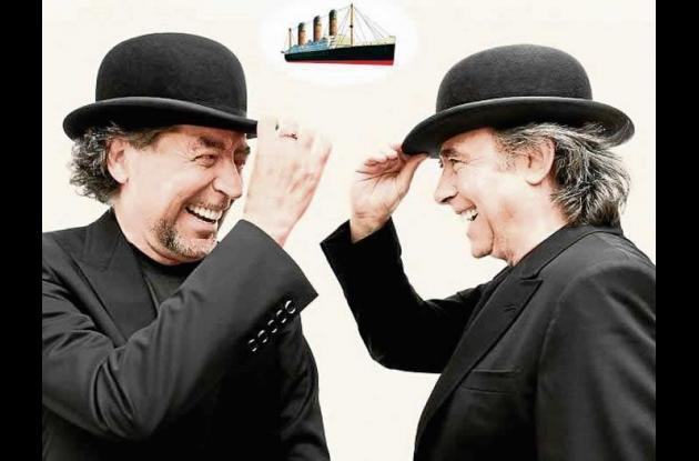"""Serrat y Sabina presentan su nuevo álbum a dúo, """"La orquesta del Titanic""""."""